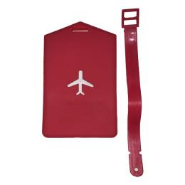 Прямоугольная бирка на чемодан FAT-LT-SQUARE-PLANE