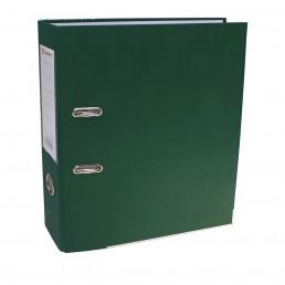 Папка-регистратор А4, 80мм Lamark ПП, металлический уголок, Зеленая