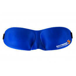 Маска для сна Routemark Hawk 3D синяя