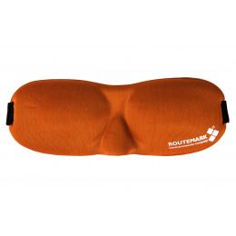Маска для сна Routemark Hawk 3D Оранжевая