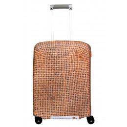 "Чехол для чемодана ""Some kind of bag"" (Какой-то мешок на чемодане) S"