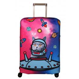 "Чехол для чемодана ""Rocket"" (Ракета) M/L"
