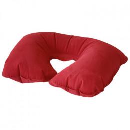 Подушка для шеи надувная Flyandtrip красная