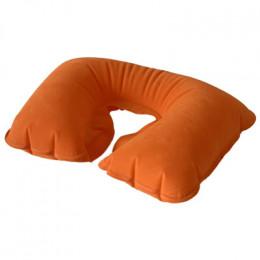 Подушка для шеи надувная Flyandtrip оранжевая