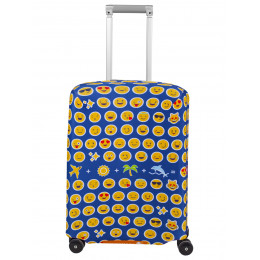 "Чехол для чемодана ""Emoji"" (Эмоджи) S"