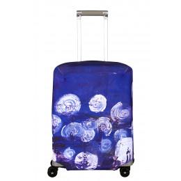 """Чехол для чемодана """"Night Lights"""" S"""