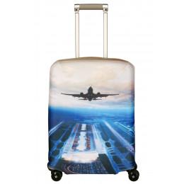 "Чехол для чемодана ""Plane"" S"