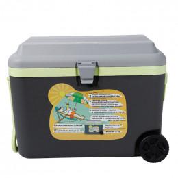 Изотермический контейнер Flyandtrip 50 литров на колесах графит