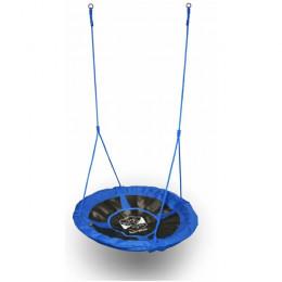 Качели гнездо детские подвесные уличные Baby-Grad 100 оксфорд синие