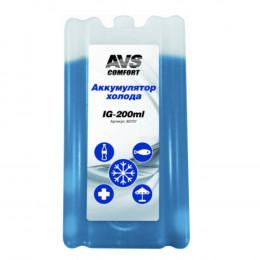 Аккумулятор холода (Заменитель льда) AVS 200 мл (пластик)