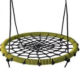 Kidgarden качели-гнездо 60 желтые