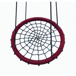Kidgarden качели-гнездо 80 красные
