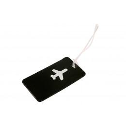Черная бирка для чемодана ХЭППИ ВЭЙС PVC
