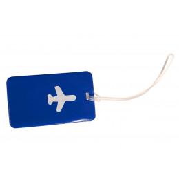 Синяя бирка для чемодана ХЭППИ ВЭЙС PVC