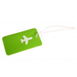 Зеленая бирка для чемодана ХЭППИ ВЭЙС PVC